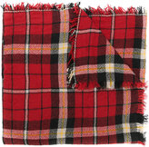 Isabel Marant Loria plaid scarf - women - Silk/Wool - One Size