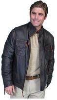 Scully Men's Lambskin Zip Front Jacket 118 Tall
