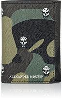 Alexander McQueen Men's Camouflage Trifold Wallet