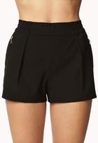Forever 21 Zippered Safari Shorts