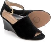Adrienne Vittadini Ranta Wedge Sandals - Suede (For Women)