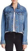 Joe's Jeans The Boyfriend Embellished Denim Jacket