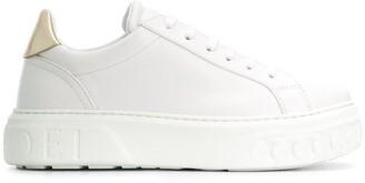 Casadei Chain Embossed Sneakers