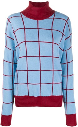 La DoubleJ Check Knit Boy Jumper