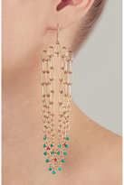Aurelie Bidermann Sioux Gold-Plated Pendant Earrings