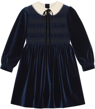 Gucci Petit Velvet Dress