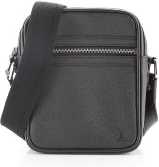 Louis Vuitton Dimitri Messenger Bag Taiga Leather Small