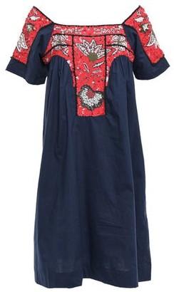 Antik Batik Chacha Embellished Cotton-poplin Dress