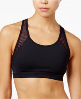 Tommy Hilfiger Perforated Cutout Sports Bra, A Macy's Exclusive
