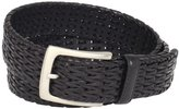 Florsheim Men's Hand Woven Genuine Leather Belt