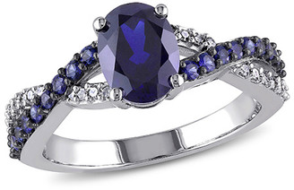 Rina Limor Fine Jewelry 10K 2.47 Ct. Tw. Diamond & Sapphire Ring