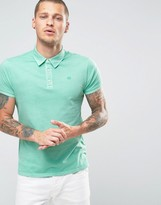 Scotch & Soda Scotch and Soda Dyed Polo Shirt