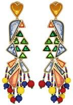 Tory Burch Parrot Statement Earrings Earring