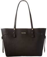 Calvin Klein Key Item Leather Tote H4AA12GM