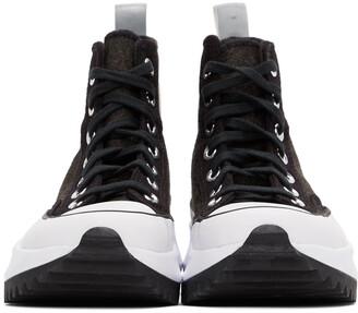 Converse Black Run Star Hike High-Top Sneakers