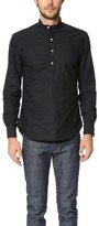 Gitman Brothers Banded Collar Oxford Popover