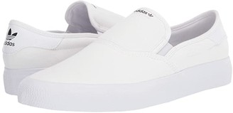 adidas Skateboarding 3MC Slip (Core Black/Core Black/Footwear White) Men's Shoes