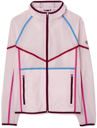 Tory Burch Contrast Ripstop Nylon Jacket