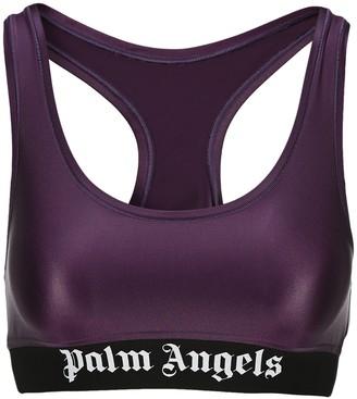 Palm Angels Logo Sports Bra