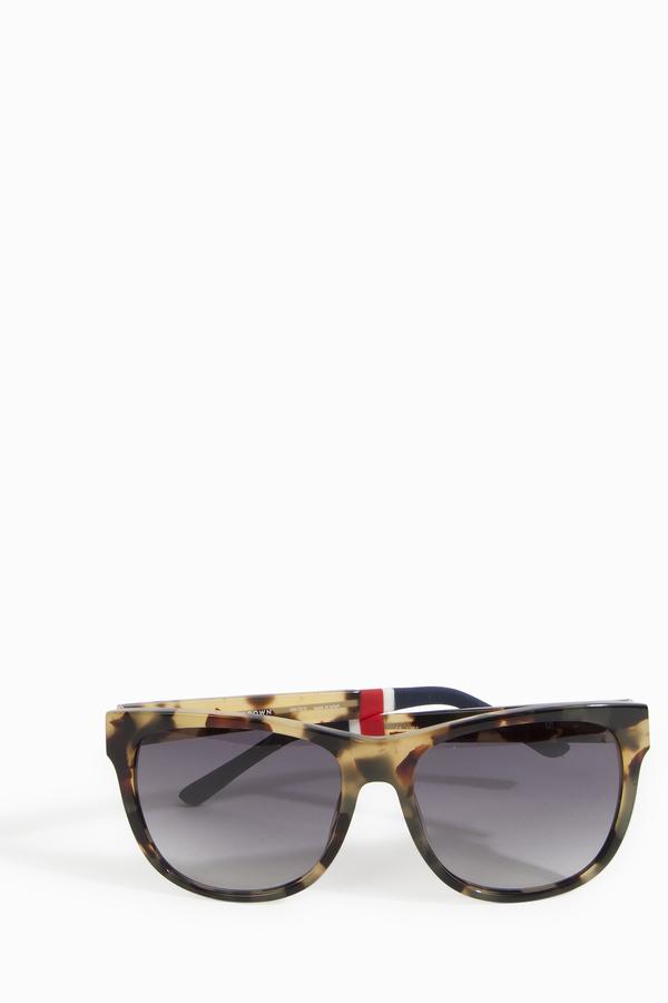 Orlebar Brown Tortoise Shell Wayfarer Sunglasses