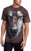The Mountain Men's Wolf Face Shirt
