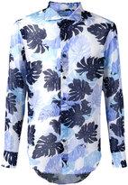 Ermanno Scervino palm print shirt