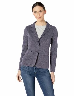 D & Jones Women's Fairfield Herringbone Soft Blazer