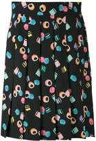 Marc Jacobs assorted licorice printed skirt - women - Silk - 6