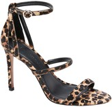 Banana Republic Haircalf Bare High-Heel Sandal