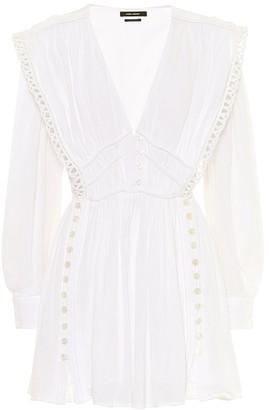 Isabel Marant Yaxo cotton minidress