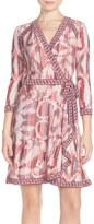 BCBGMAXAZRIA 'Adele' Print Wrap Dress
