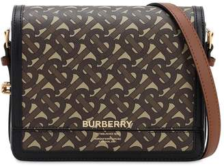 Burberry SM GRACE MONOGRAM & CANVAS BAG
