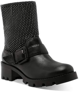 Schutz Women's Galena Studded Moto Boots