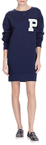 Polo Ralph Lauren Varsity Jumper Dress, Navy