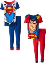 Komar Kids DC Comics Little Boys' Superman-Piece Pajama Set