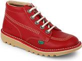 Kickers Kick Hi Leather Boots 7-9 Years