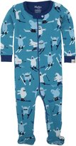 Hatley Infant Footed Coverall - Ski Monsters - 6-12 months / 69-74 cm