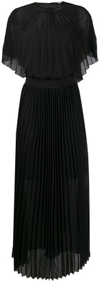 Karl Lagerfeld Paris Pleated Maxi Dress
