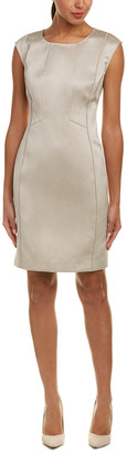 Lafayette 148 New York Joss Linen-Blend Sheath Dress