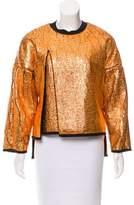 3.1 Phillip Lim Metallic Slit Sweatshirt w/ Tags