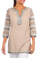 Gretchen Scott Beaded Cotton Tunic