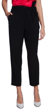 1 STATE Sash-Belted Ankle Pants