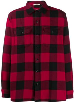 Levi's checked button shirt