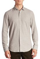 Ralph Lauren Purple Label Knit Casual Button-Down Shirt