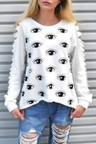 Minx Evil Eye Sweater