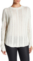 Brochu Walker Frasier Linen Blend Pullover