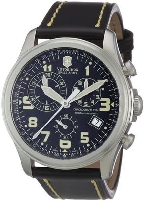 Victorinox Men's 241314 Infantry Vintage Chronograph Black Dial Watch