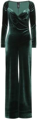 Norma Kamali Velvet jumpsuit