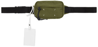 Maison Margiela Green Canvas Belt Bag