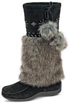 Barbo Girls' 'Candy' Suede Junior Fashion Boot